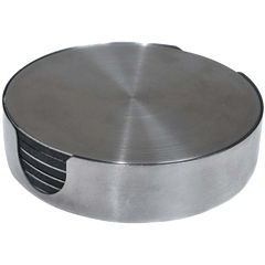 Thirstystone® Stainless Steel Coasters Gift Set