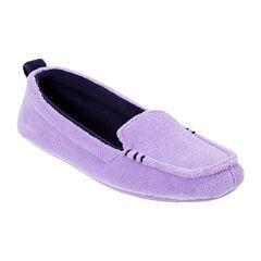 Dearfoams® Terry Moccasin Slippers