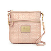 Nicole By Nicole Miller Randy Quilted Crossbody Bag