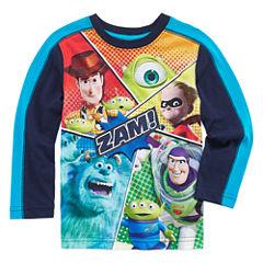 Okie Dokie Pixar Long-Sleeve Zam T-Shirt - Toddler 2T-5T