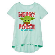 Short Sleeve T-Shirt-Big Kid Girls