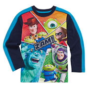Okie Dokie Pixar Long-Sleeve Zam T-Shirt - Preschool 4-7
