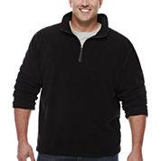 The Foundry Big & Tall Supply Co. Quarter Zip Plush Fleece