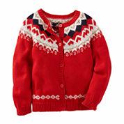 Oshkosh Long Sleeve Cardigan - Toddler