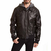 Excelled® Bomber Jacket with Hood–Big & Tall