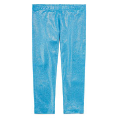 Okie Dokie Solid Knit Leggings - Preschool Girls