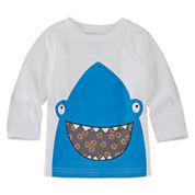 Okie Dokie Boys Long Sleeve Graphic Attitude T-Shirt-Baby