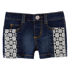 Arizona Fashion Denim Short - Baby Girl 3m-24m