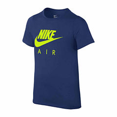 Nike Boys Short Sleeve T-Shirt-Big Kid