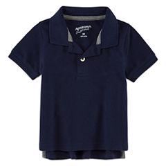 Arizona 100 Short Sleeve Solid Polo Shirt - Baby Boys
