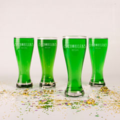 Cathy's Concepts St. Patrick'S Day Shenanigans 4-pc. Pilsner Glass