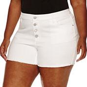 a.n.a Denim Shorts-Plus