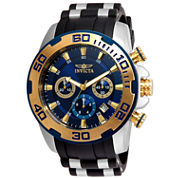 Invicta Mens Black Bracelet Watch-22339