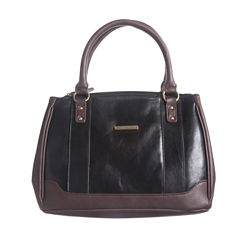 Stone And Co Megan Vintage Convertible Leather Satchel