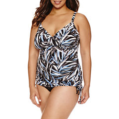 Trimshaper®  Palm Passion Wendy Tankini or Side Tie Hipster