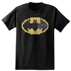 Short Sleeve Batman Tv + Movies Graphic T-Shirt