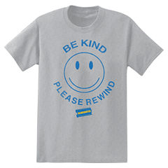 Neck T-Shirt Short Sleeve Crew Blockbuster Be Kind