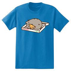 Pusheen Pizza Box T-Shirt