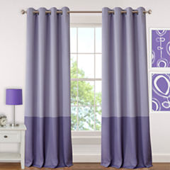Madeline Blackout Grommet-Top Curtain Panel
