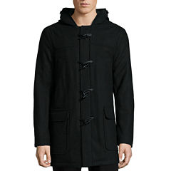 IZOD® Long-Sleeve Wool Toggle Coat