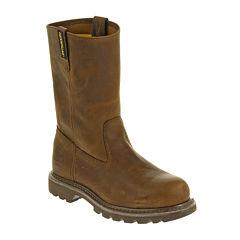 CAT® Revolver Mens Steel-Toe Work Boots