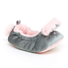 Carter's® Bunny Slippers - Baby Girls
