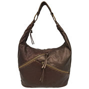 St. John`s Bay Diagonal Zip Hobo Bag
