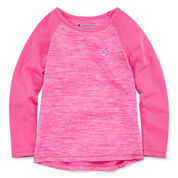 Champion Girls Long Sleeve T-Shirt-Preschool