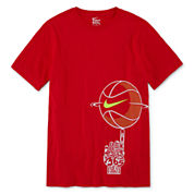 Nike Spinning Ball Graphic Tee- Boys 8-20