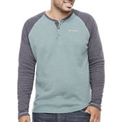 Columbia Long Sleeve Henley Shirt Big and Tall