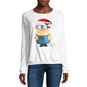 Minion Fleece Sweatshirt- Juniors