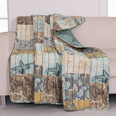 Greenland Home Fashions Elle Quilted Throw