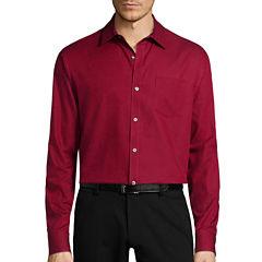 Claiborne® Long-Sleeve Pocket Woven Shirt