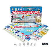Washington DC-opoly Board Game