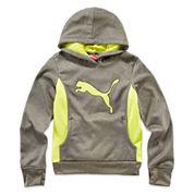 Puma® Fleece Pullover Hoodie - Girls 7-16