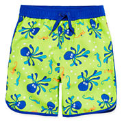Arizona Octopus Swim Trunks - Toddler Boys 2t-5t