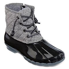 Seven 7 Goose Womens Waterproof Slip Resistant Rain Boots