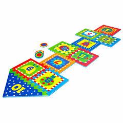 Alex Toys Hopscotch W/Snap Together Boards 14-pc. Combo Game Set