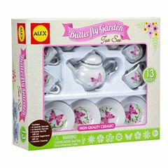 Alex Toys Butterfly Garden Tea Set 13-pc. Play Food