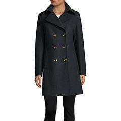 Liz Claiborne® Peacoat - Tall