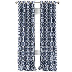 Grayson Blackout Grommet-Top Curtain Panel