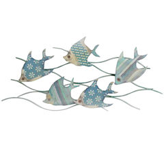 Fish In The Ocean Wall Decor