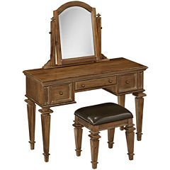 Sherman Vanity and Bench