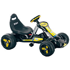 Lil' Rider Black Stealth Pedal Powered RideOn Go-Kart