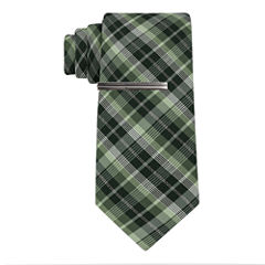 JFerrar Formal Glitter Plaid Tie