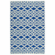 Kaleen Brisa Scroll Negative Rectangle Accent Rug