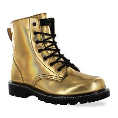 Gotta Flurt Luna Combat Boots