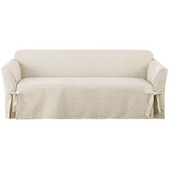 SURE FIT® Ticking Stripe 1-pc. Sofa Slipcover