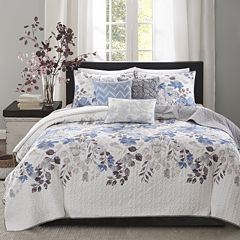 Madison Park Raven 6-pc. Coverlet Set
