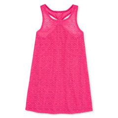 Total Girl Girls Pattern Dress-Big Kid